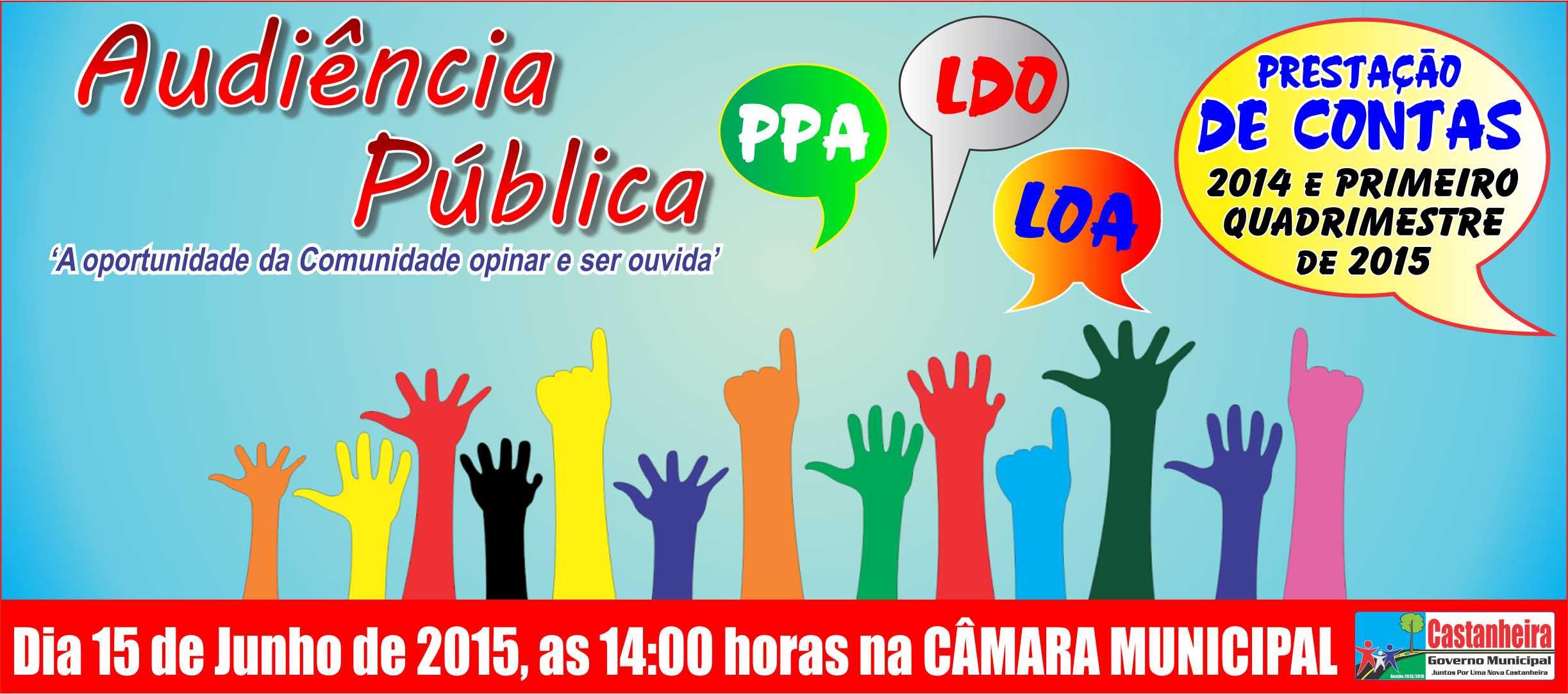 Audiência Pública - Planejamento / 2016