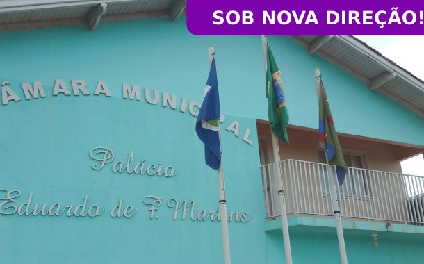 Vereador Palito assume a Presidência da Câmara